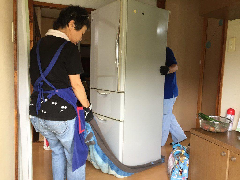 冷蔵庫の撤去